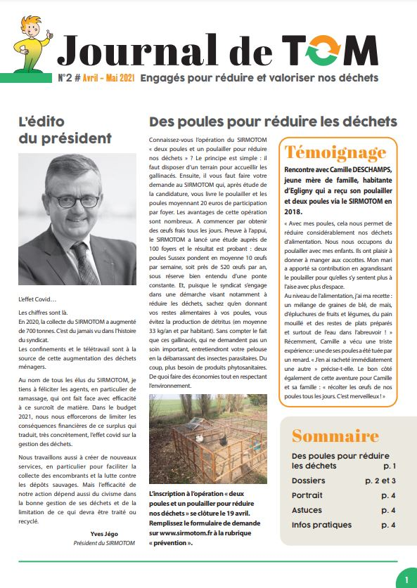 Journal de Tom n°2